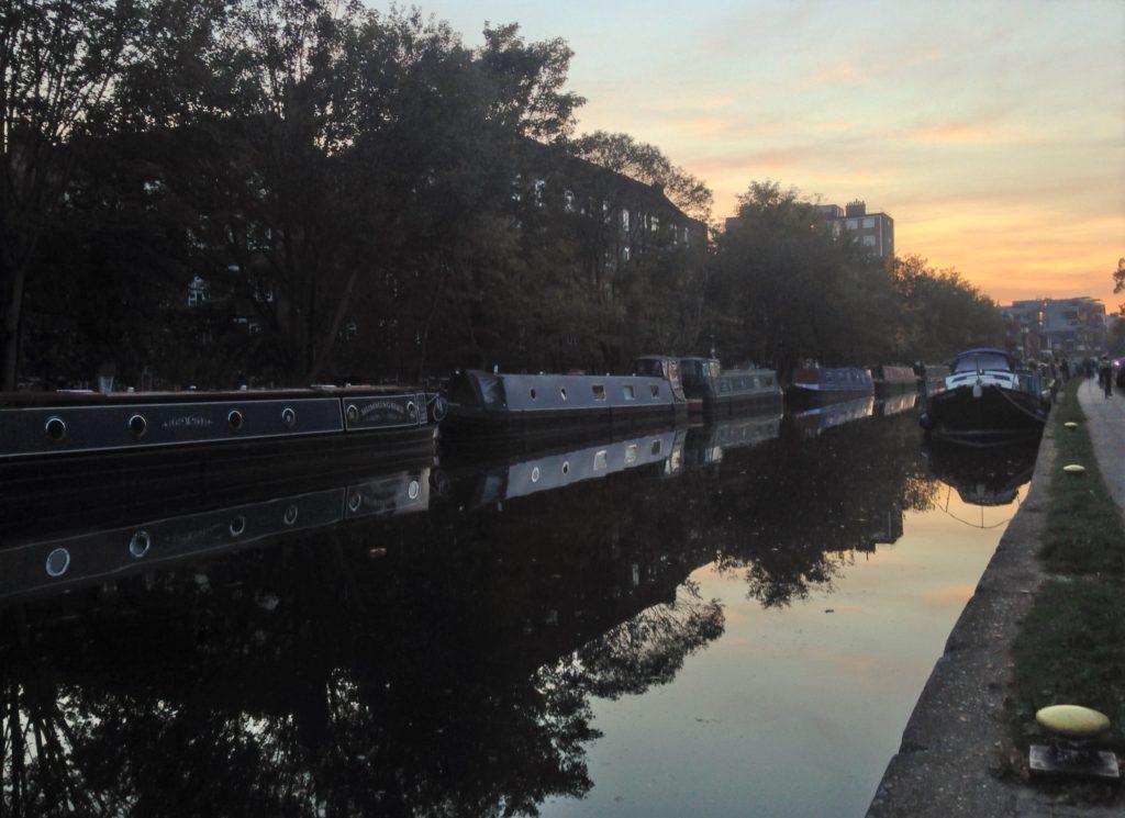 Rengents canal, foto til Londonguide om Østlondon
