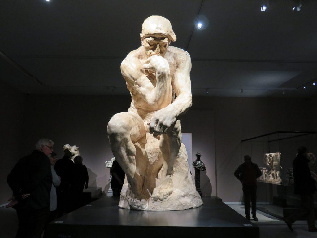 Grubleren af Rodin i Groningen