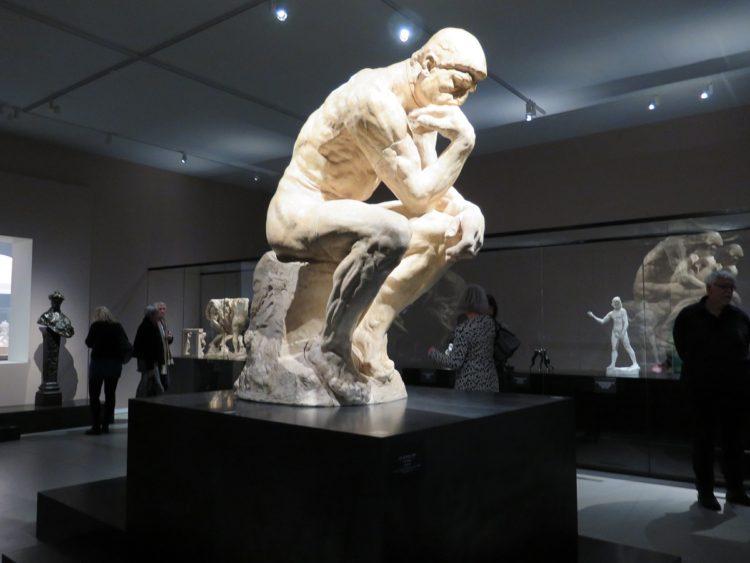 Grubleren af Rodin i Groningen, Holland