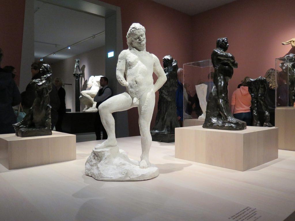Balsaz skulptur af Rodin