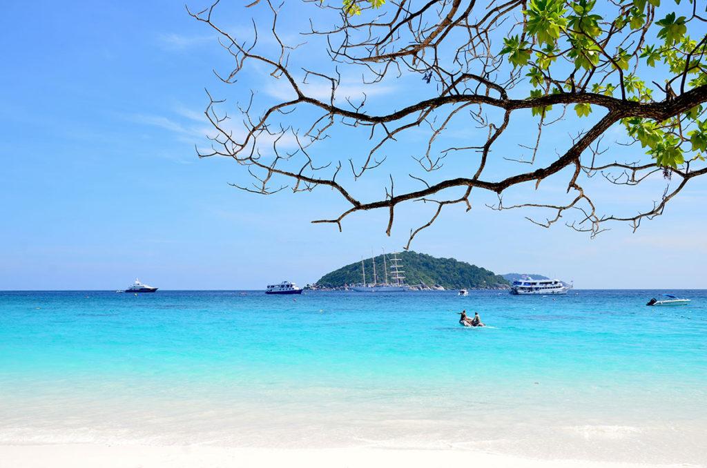 Similan-øgruppen i Thailand