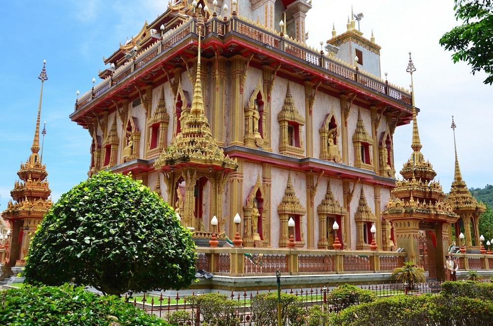 Phukets største buddhist-tempel Wat Chalong
