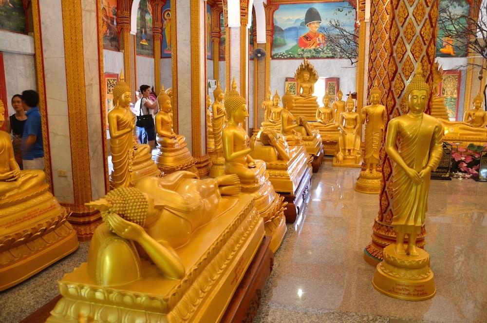 Buddha i tempel