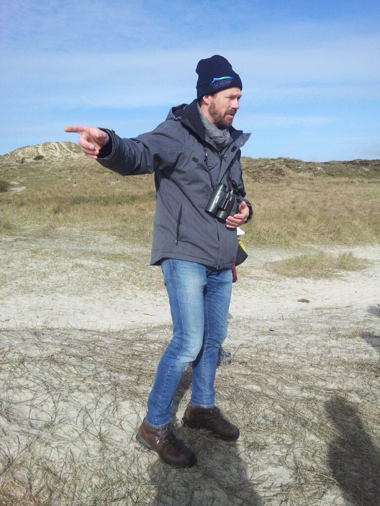 Guide ved Vadehavet på Fanø