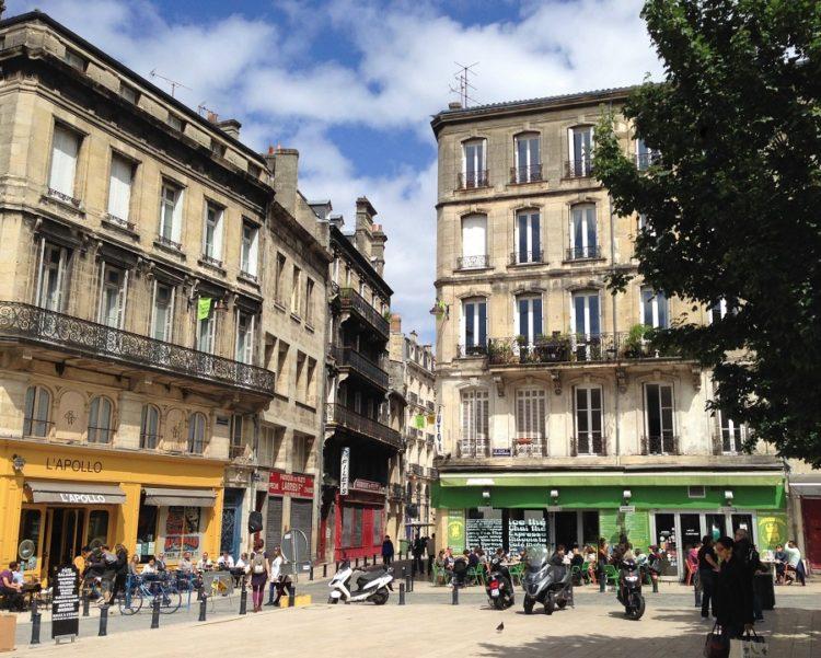 Torv i Bordeaux