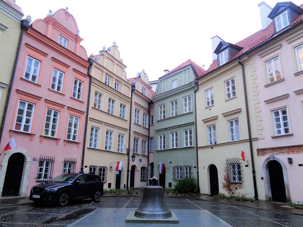 Den gamle bydel i Warszawa