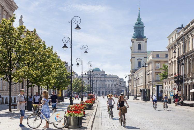 Krakowskie Przedmiescie street_photo City of Warsaw©Warsaw Tourist Office