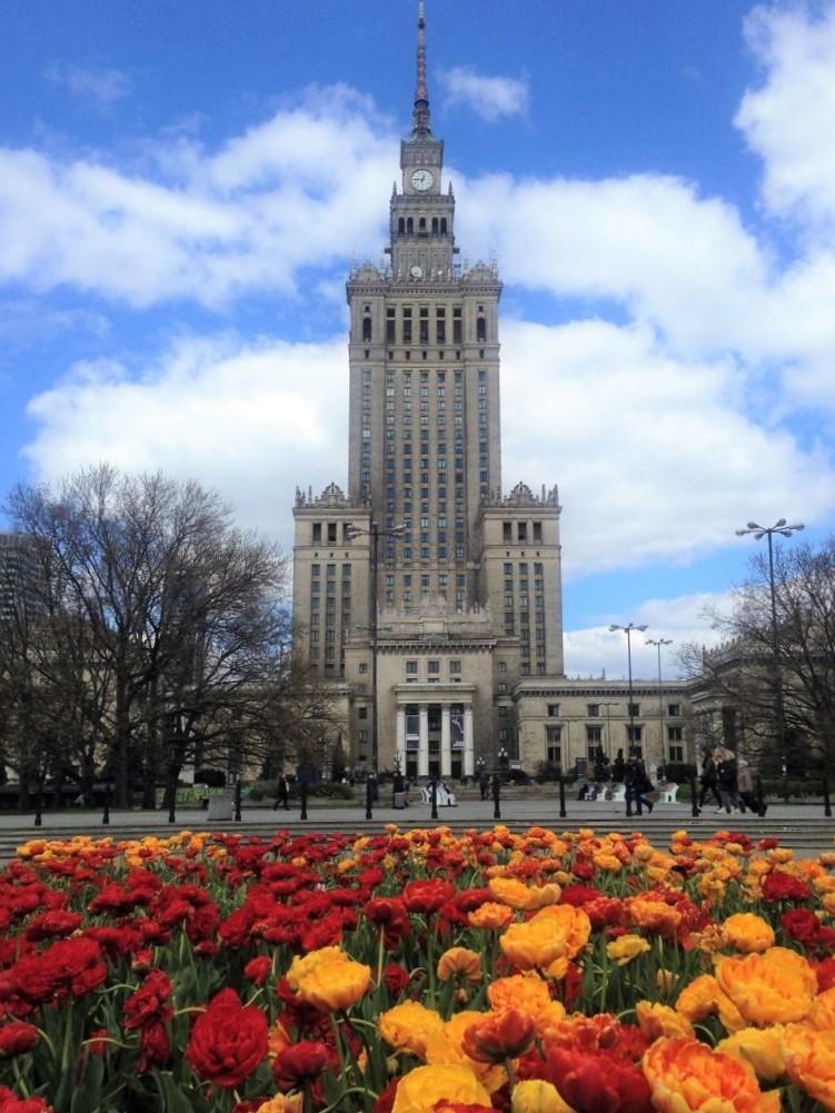 Kulturpaladset i Warszawa