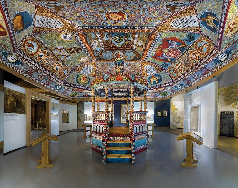 Synagoge i Polin-museet, Warszawa