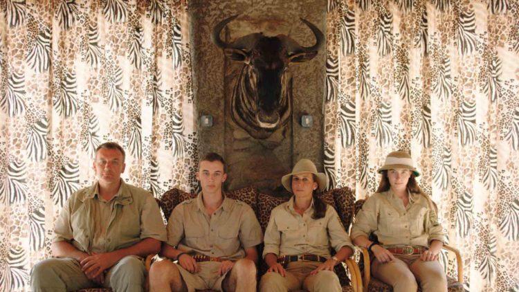 Jægere fra filmen Safari