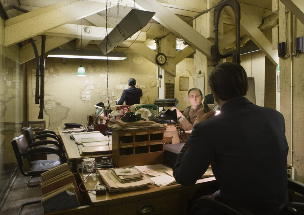 The Map Room in Churchill War Rooms