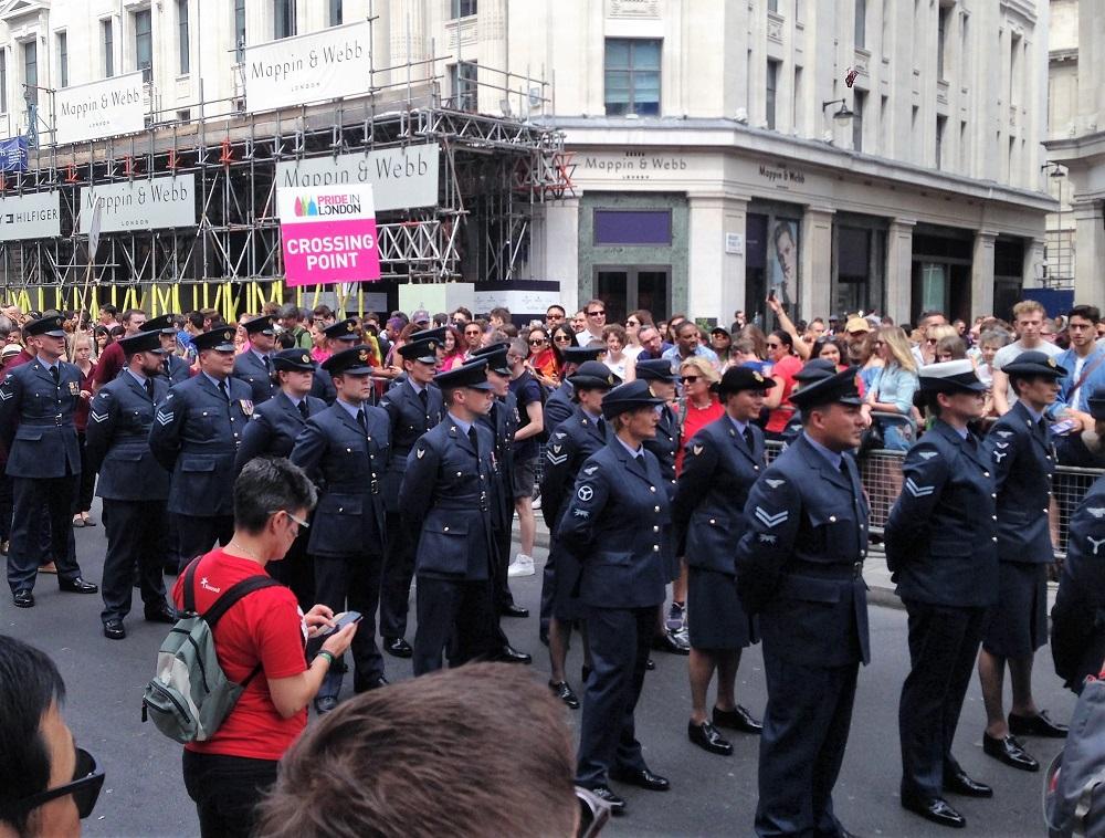 Militærfolk til Pride