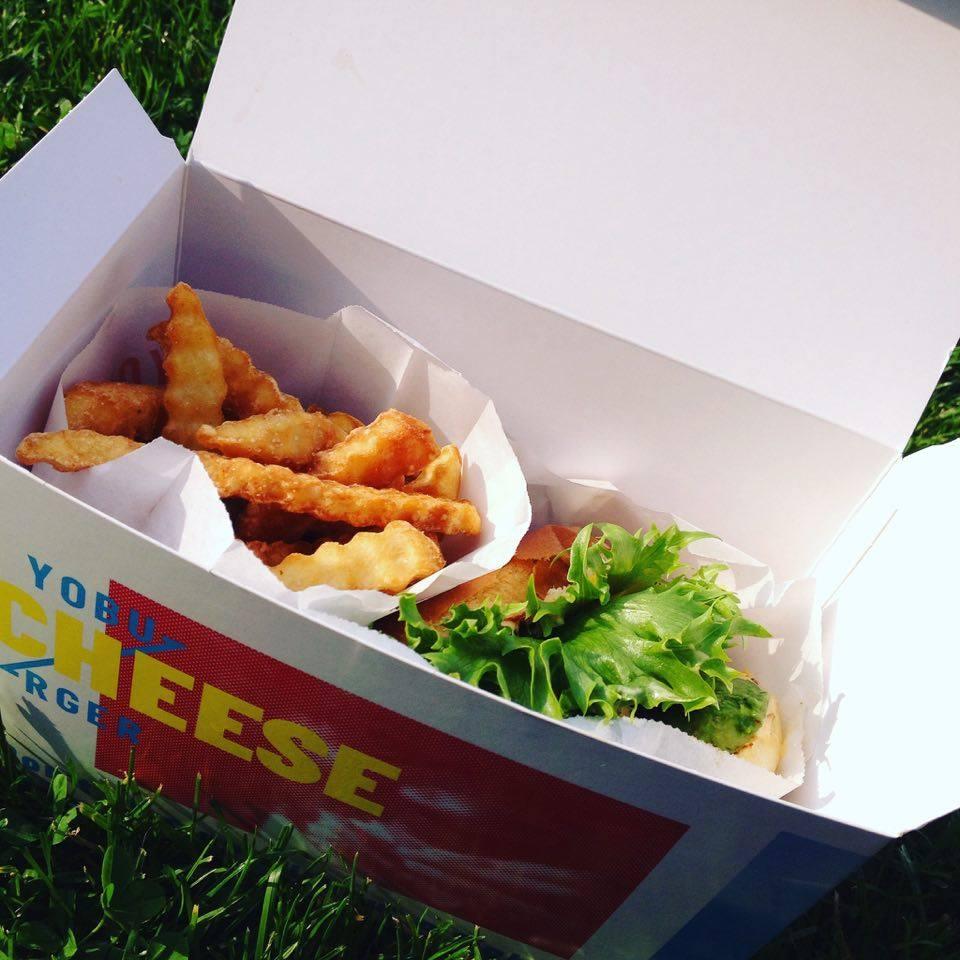 Yobo burger, en af byens bedste burgere
