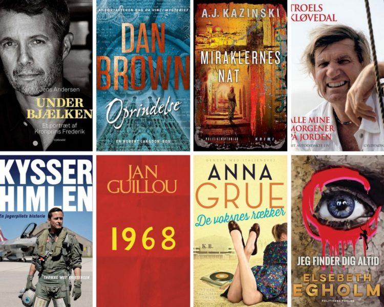Populære bøger 2017
