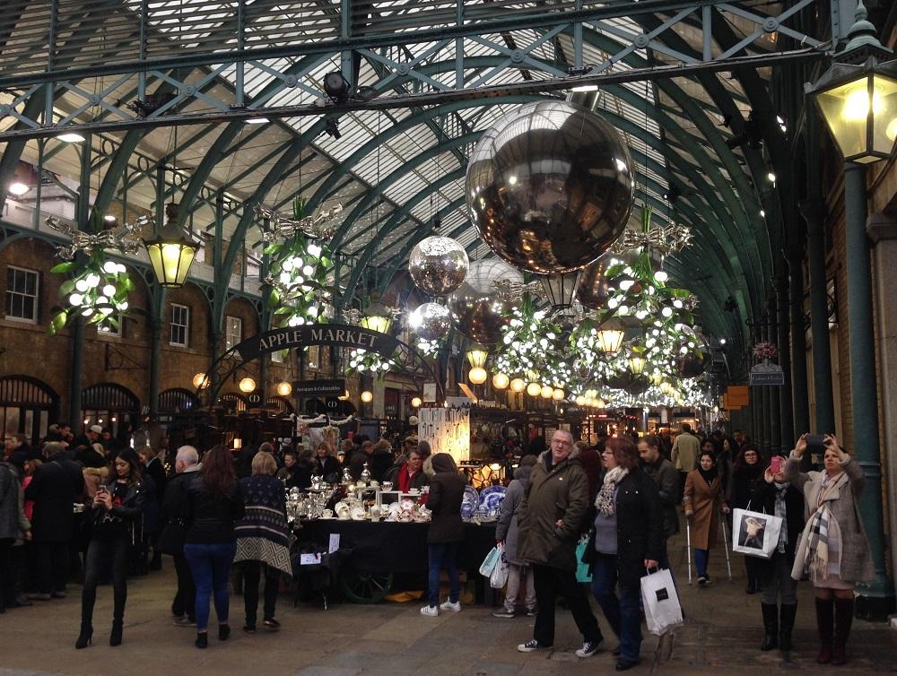 Jul i London: Covent Garden