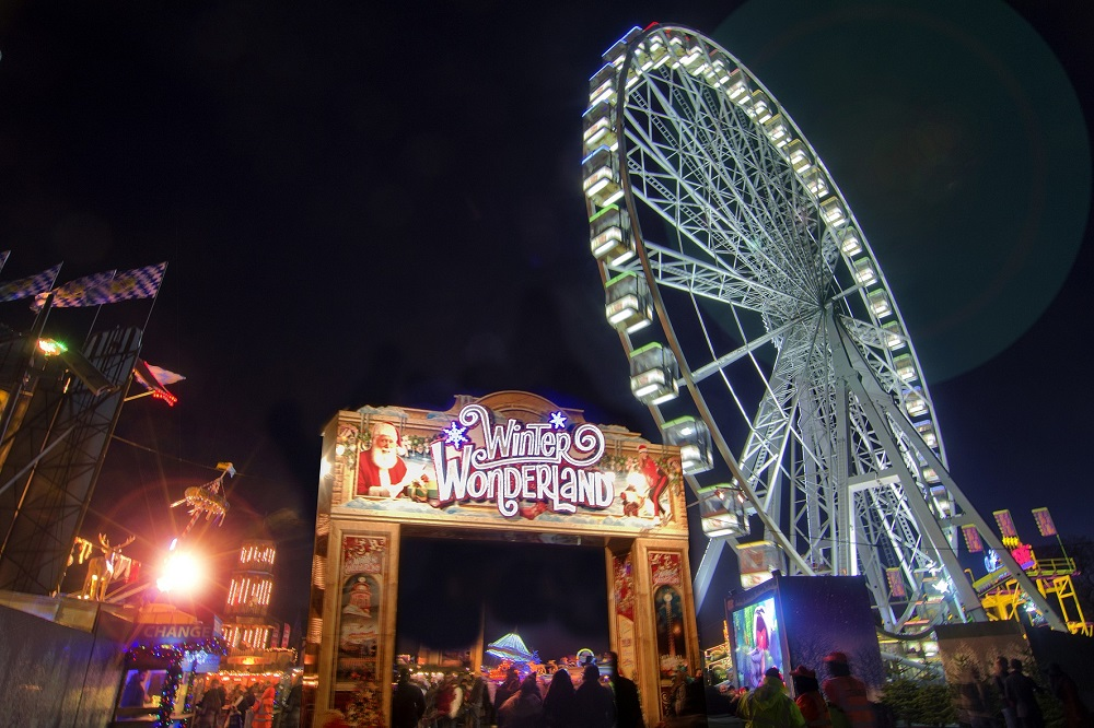 Winter Wonderland, Jul i London