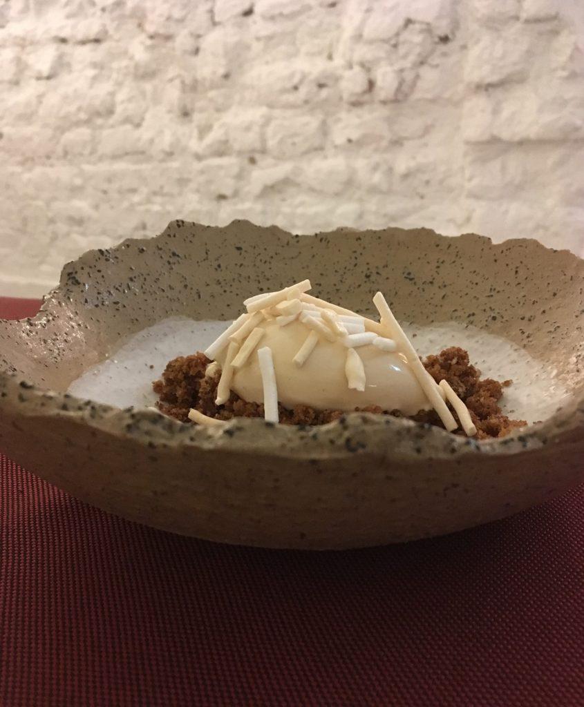 Dessert fra Dublis i Vilnius, en af de mange restauranter i Litauen