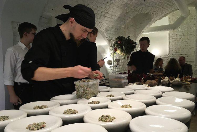 Kokke på Dublis, en af de gode restauranter i Litauen