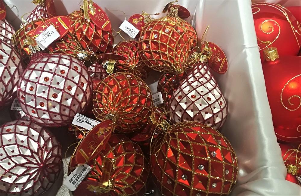 Julekugler, røde