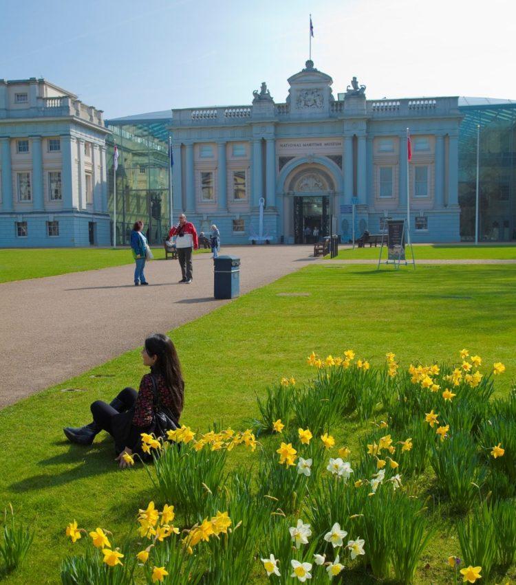 Der er mange parker i London, her ved Greenwich Maritime Museum. Foto: © Pawel Libera/London and Partners.