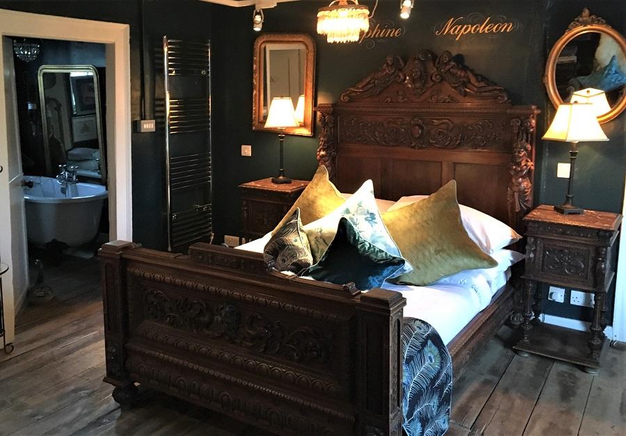 Josephineværelse i The Woolpack Inn Warehorne