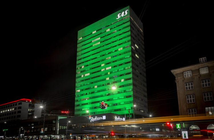 Radisson Collection Royal Copenhagen on Skt. Patrick's Day