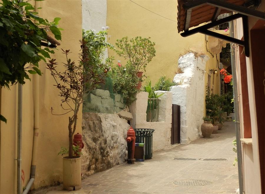 Landbymur på Kreta