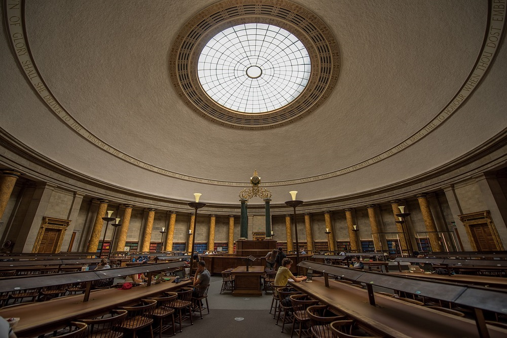 Manchester The Central Library-[34186]