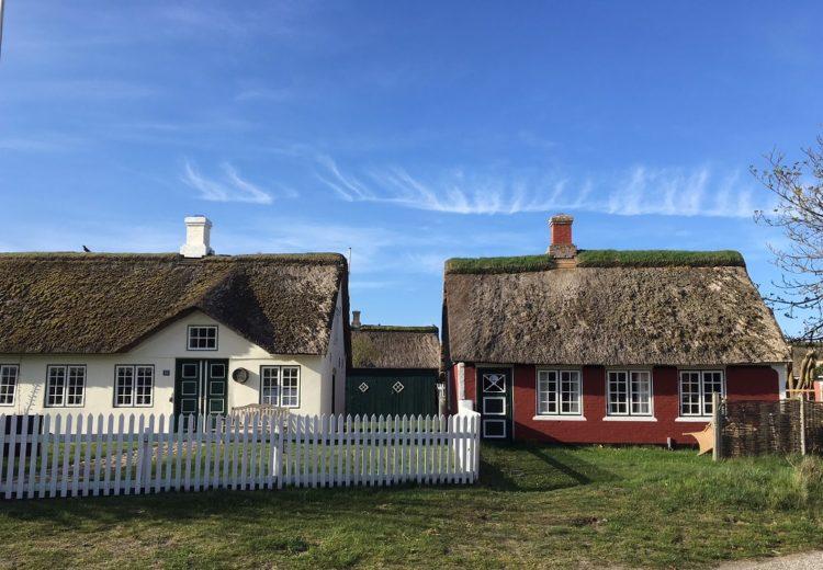 Huse i Sønderho, Danmarks smukkeste landsby. Foto: Karen Seneca