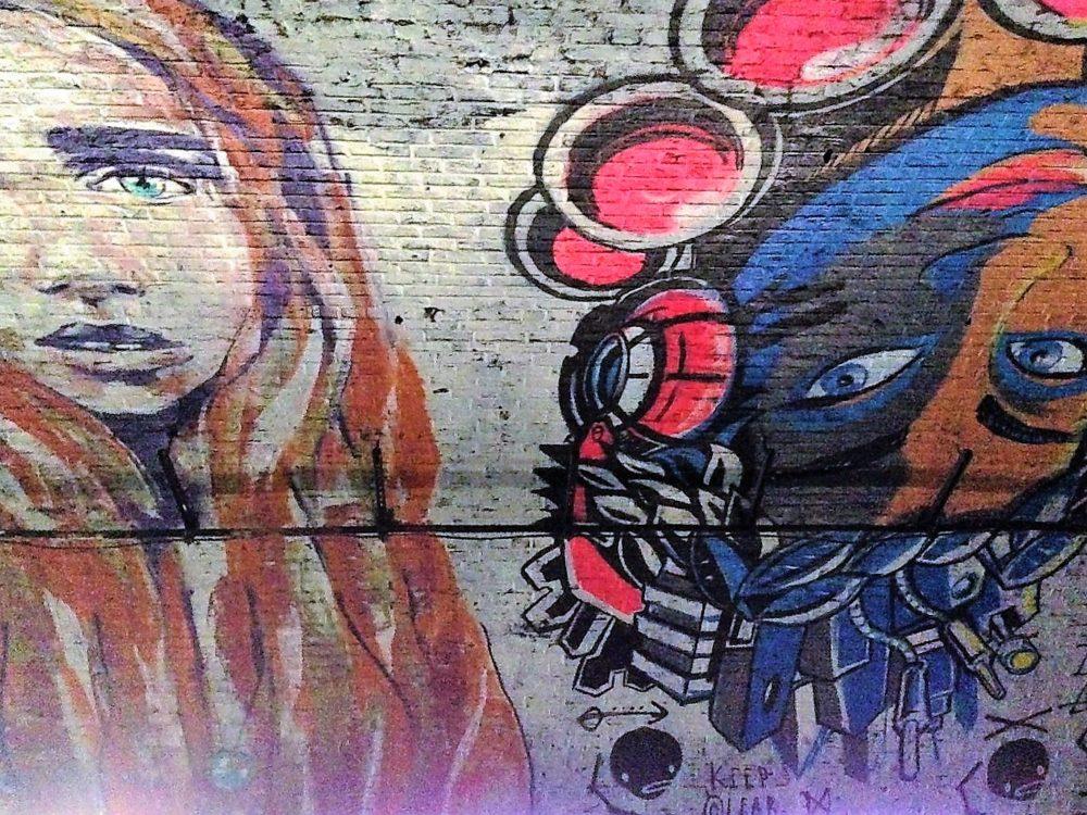 Street Art i Banksy Tunnel