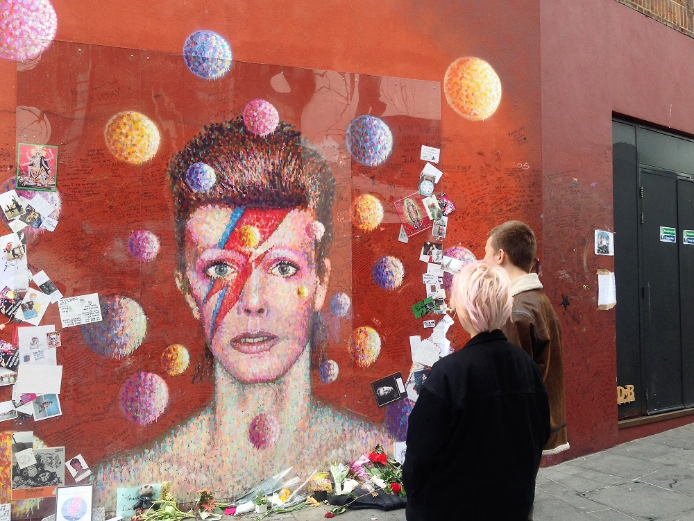 Street Art i London: David Bowie