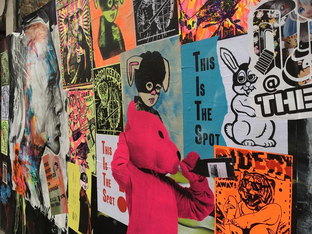 Street art i London, Hoxton