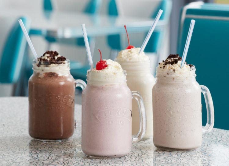 Milkshakes fra The Diner