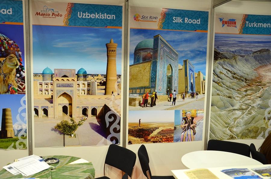 Usbekistan stand