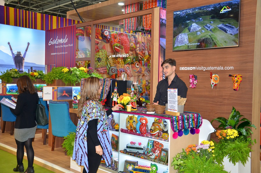 Rejsemesse i London: Guatemala