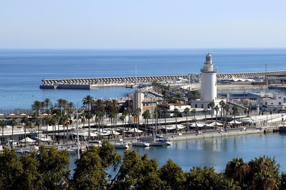 Havnen i Malaga