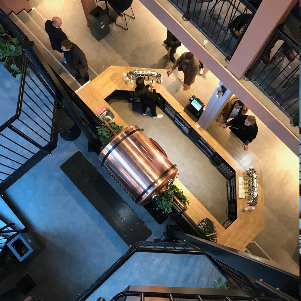 Boltens Food Court i København