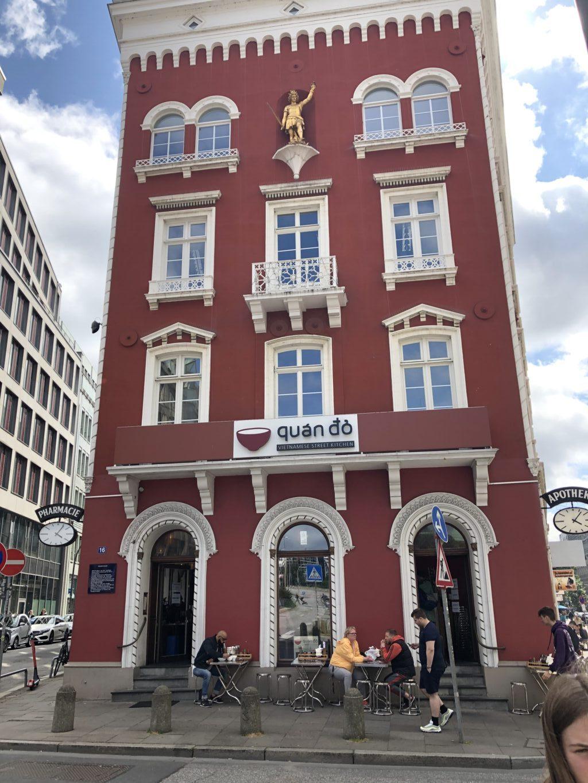 Restaurant i Hamborg