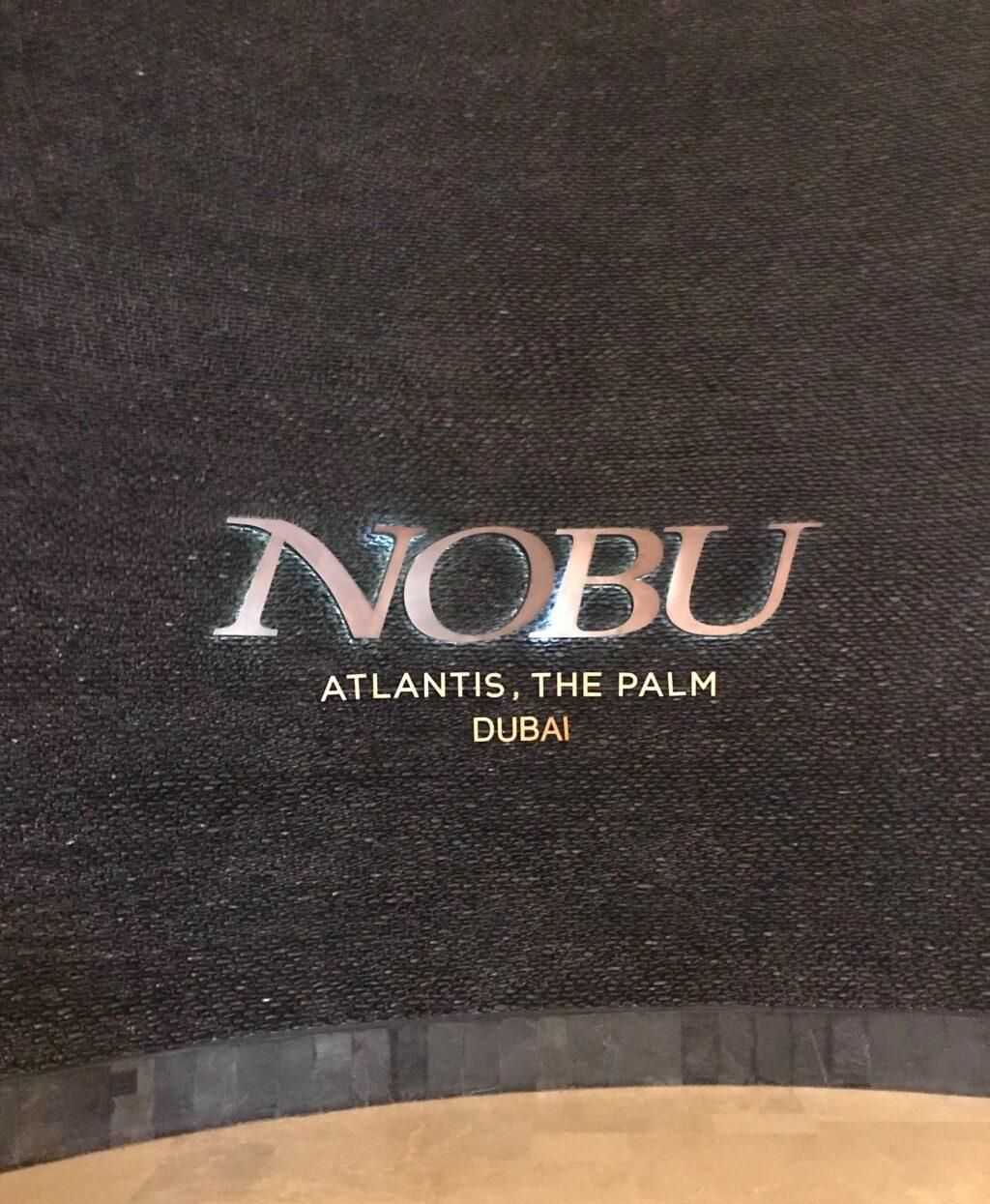 Nobu i Dubai