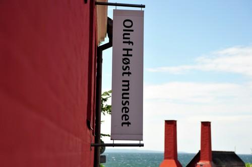 Bornholm er kendt for blandt andet Oluf Høst Museet