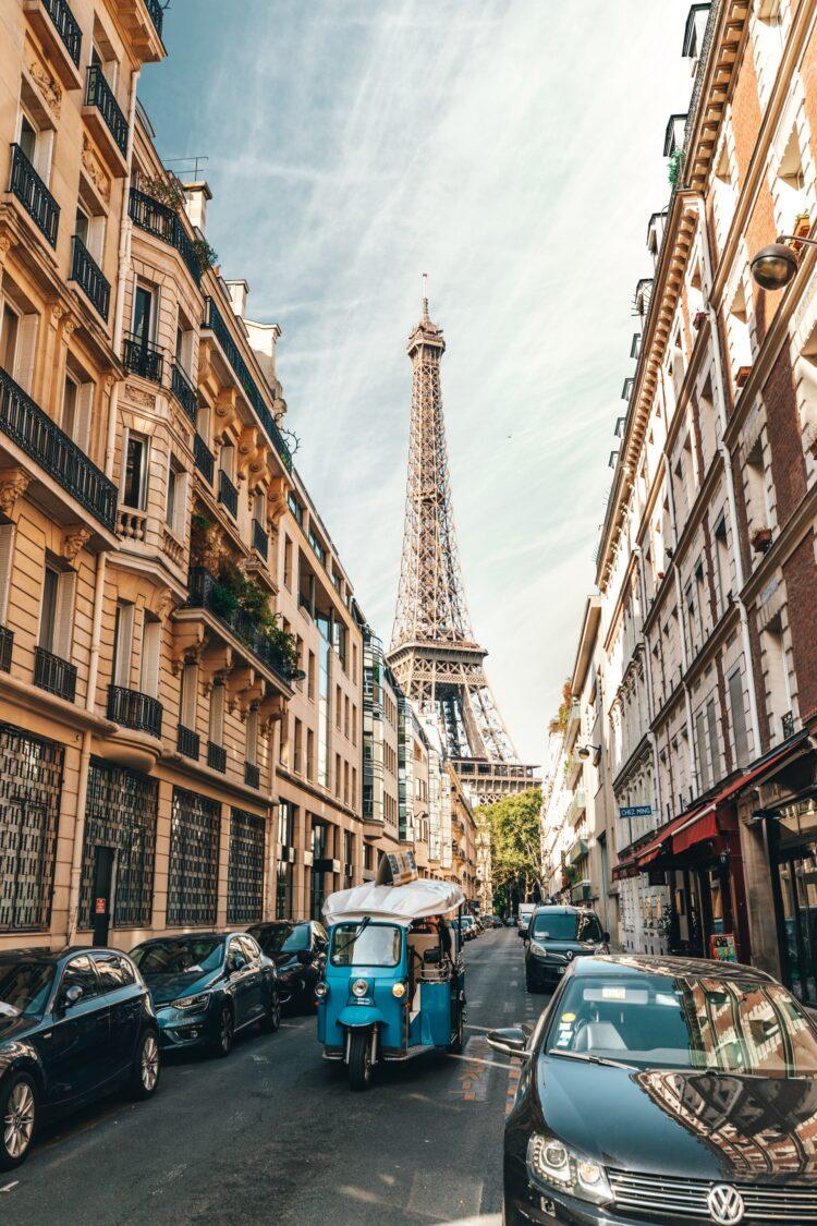 Paris - bedste rejsedestinationer i verden