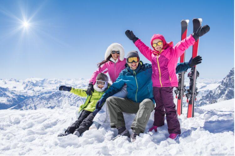 Ny på ski
